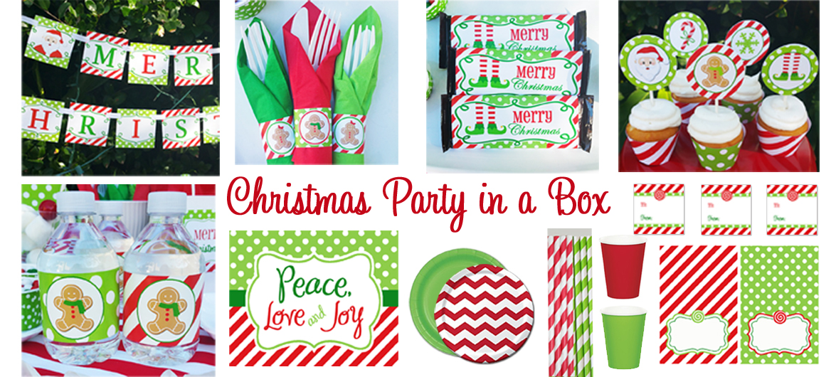 Christmas Party in a Box, Christmas Made Simple
