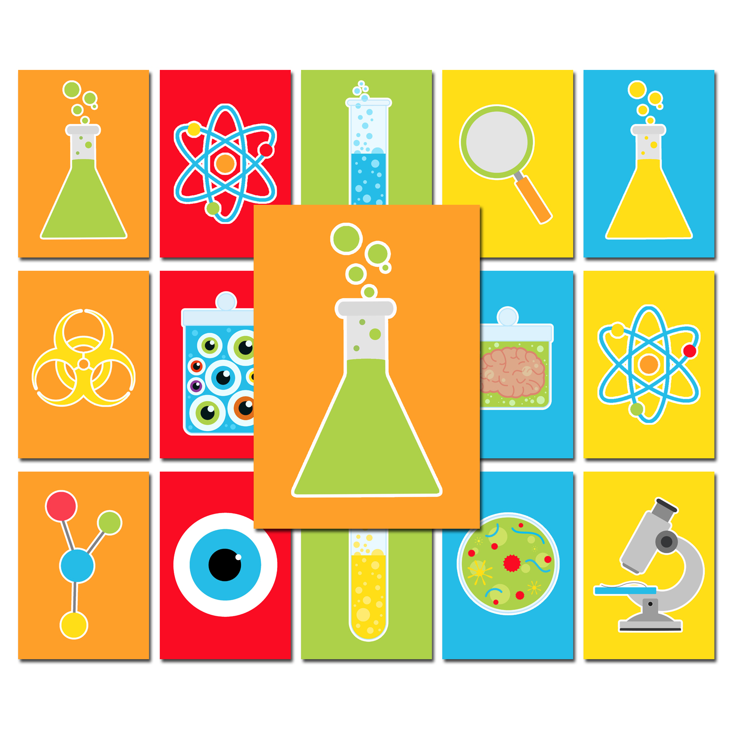 Boy Science Party - Super Scientist Collection