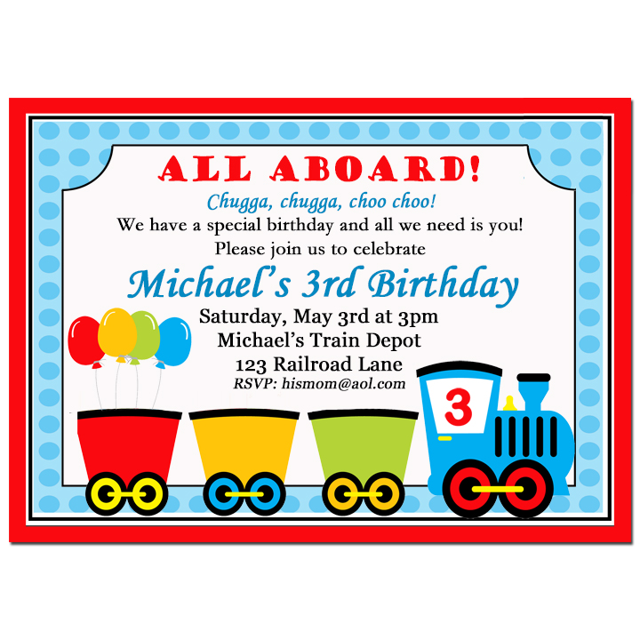 Train Party - Choo Choo Express Collection