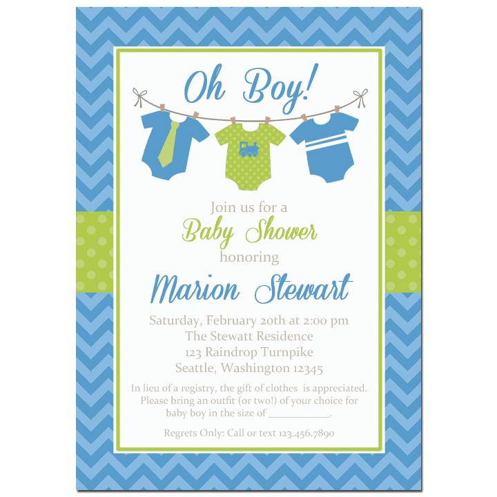 Blue Onesies - Baby Boy Onesie Collection