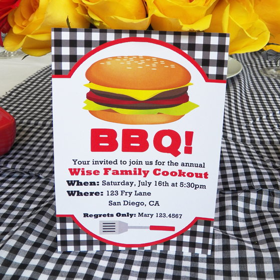 Black Gingham Barbeque - BBQ Collection