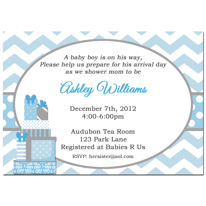 Blue Chevron Gifts