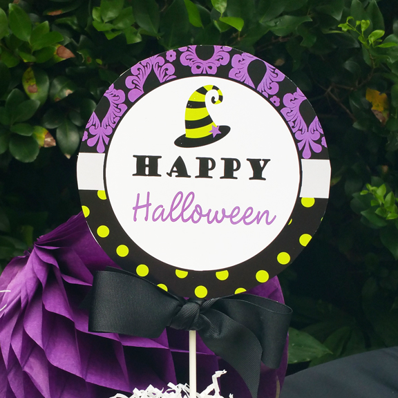 Purple Lime Chandelier - Glam Halloween Party Collection