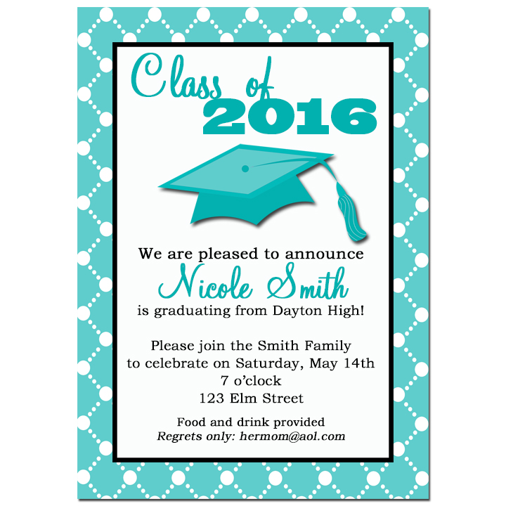 Graduation Diamond Border