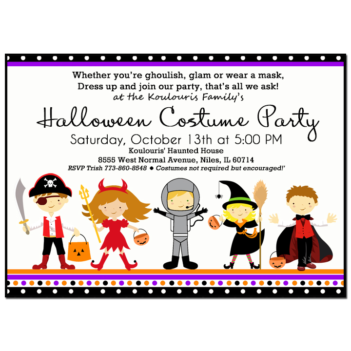 Kid's Costume Party