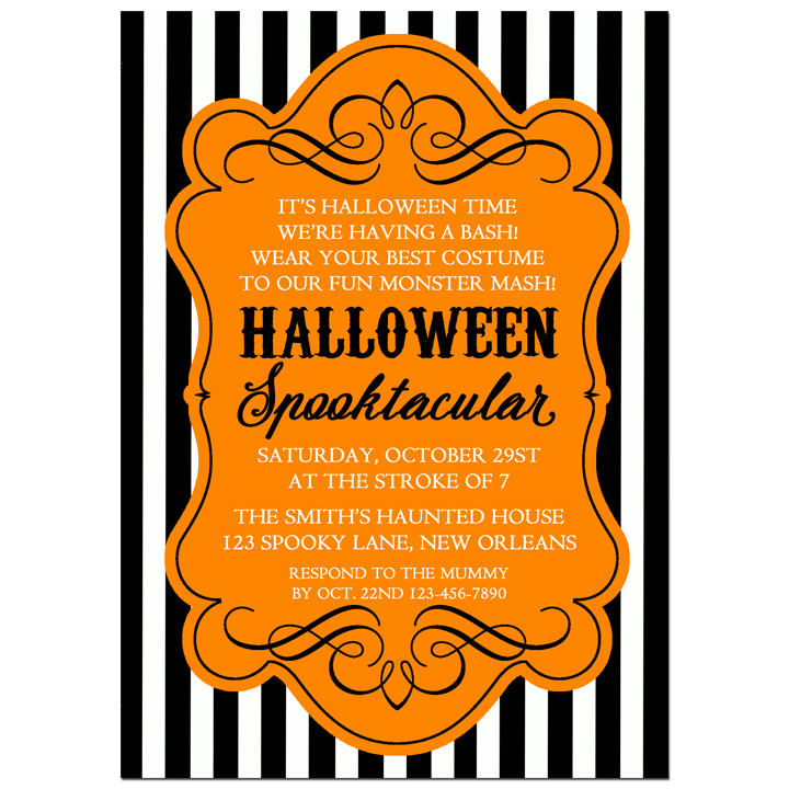 Black Stripe Spooktacular