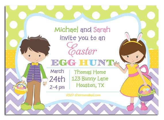 Sibling Easter Egg Hunt
