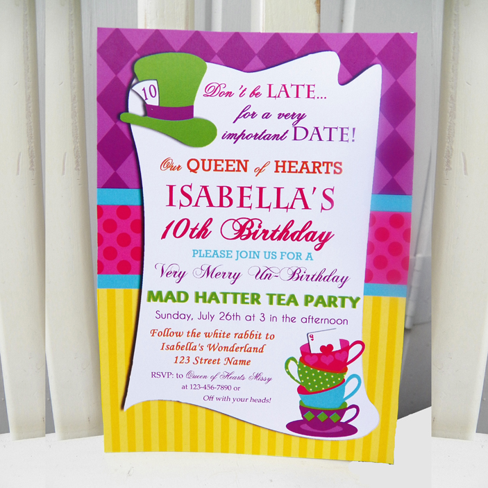 Tea Party - Hatter Collection