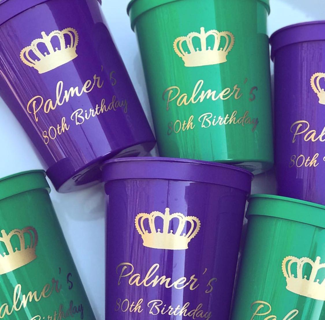 Stadium Plastic Cups