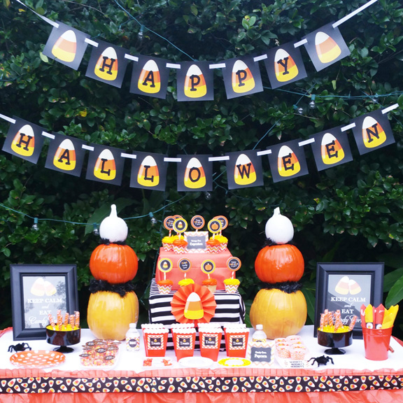 Halloween - Candy Corn Sweet Collection