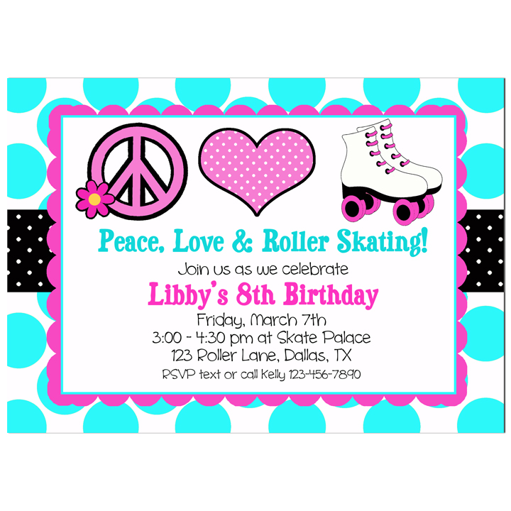 Peace, Love, Roller Skating