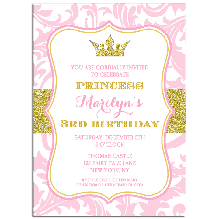 Princess - Pink and Gold Sparkle Collection