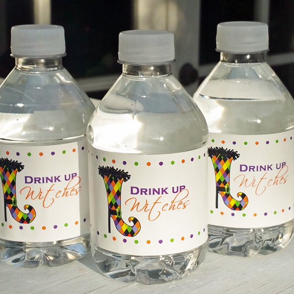 Wine, Drink and Water Labels
