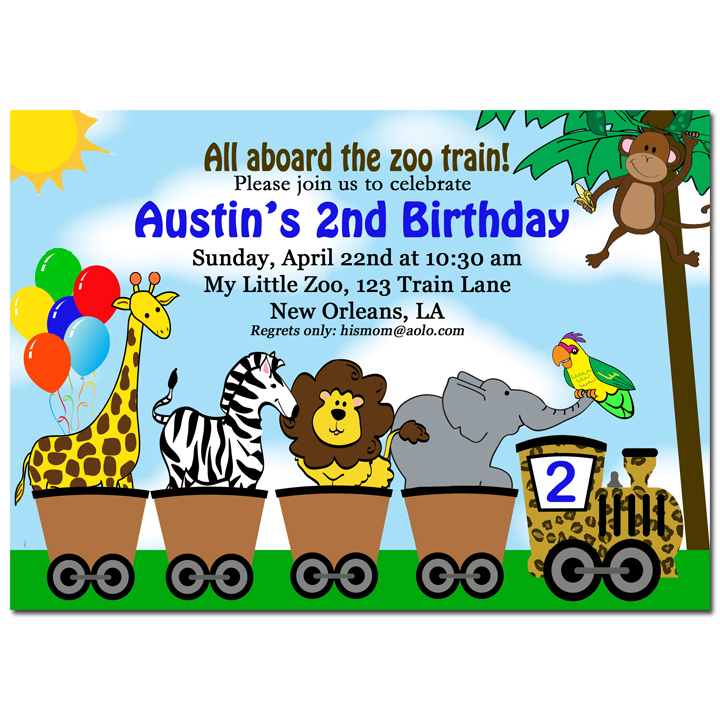 Animal Parade - Zoo Train Collection
