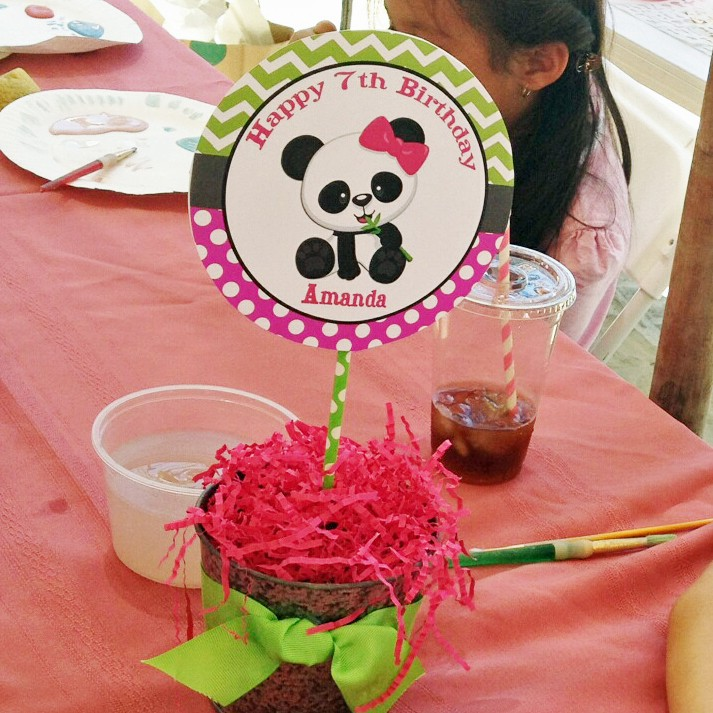 Resultado de imagem para panda centerpiece