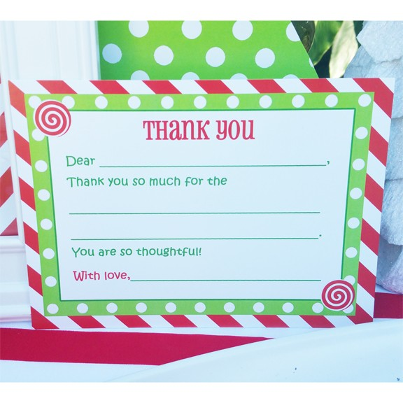 christmas party thank you note