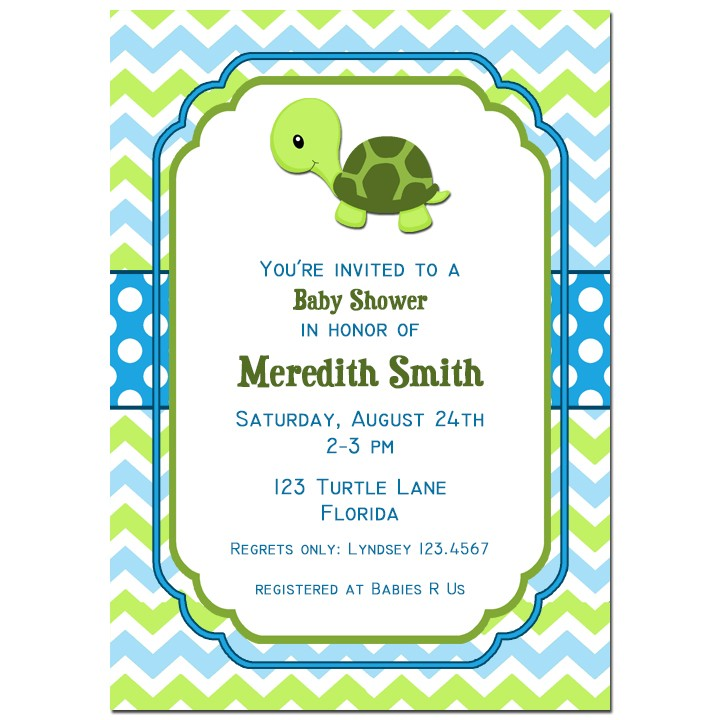 Turtle party invitation by that party chick one special turtle turtle baby shower invitation filmwisefo