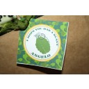 Camouflage Military Party Favor Tags