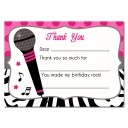 Rock Star Thank You Note