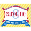 Country Fair Personalized Poster or Backdrop
