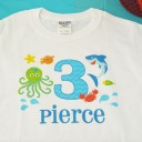 Under the Sea Birthday Party Shirt