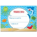 Under the Sea Thank You Note