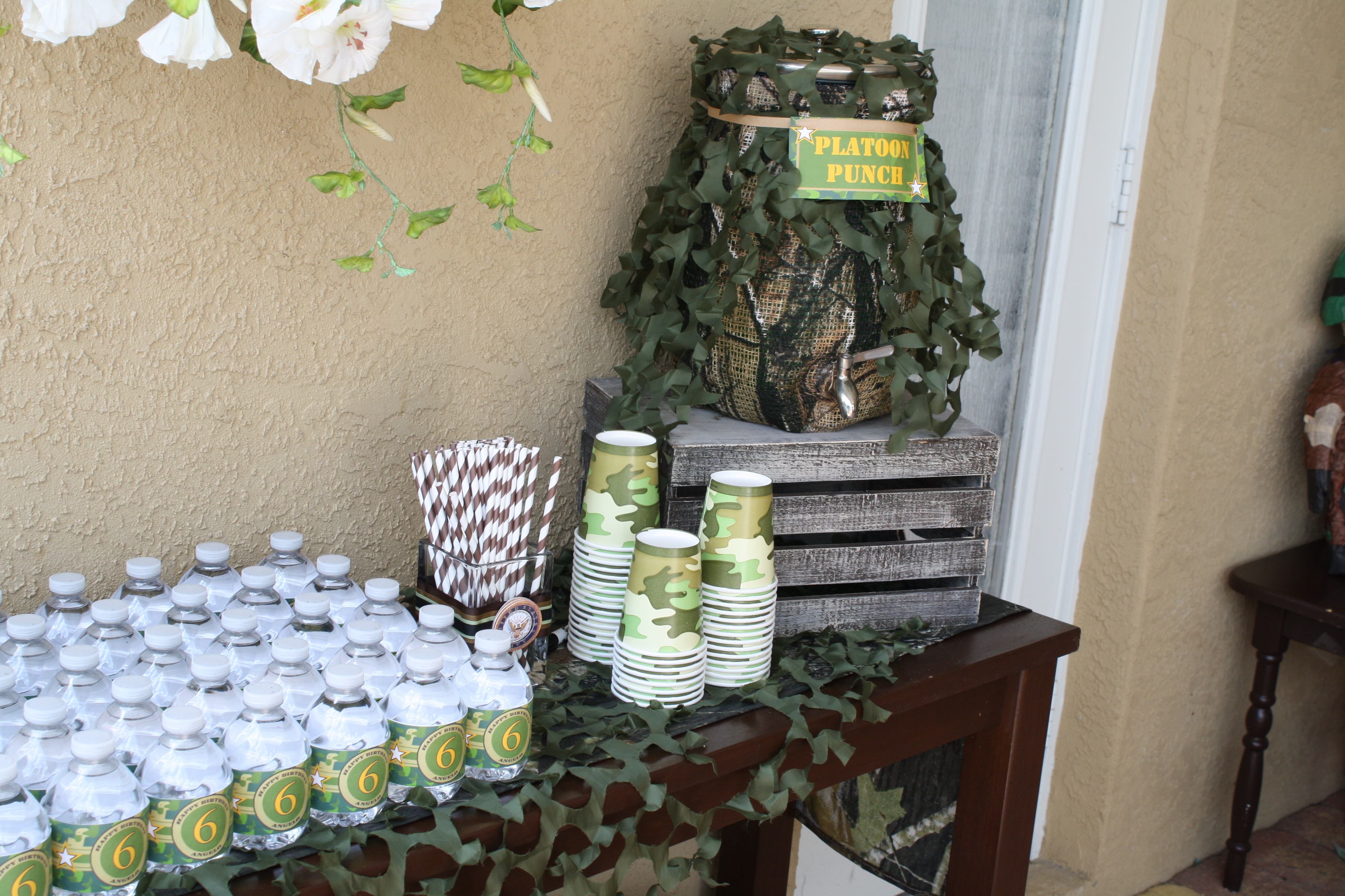 Army Camouflage Birthday Party That Chick