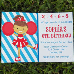 Cheerleading Birthday Party
