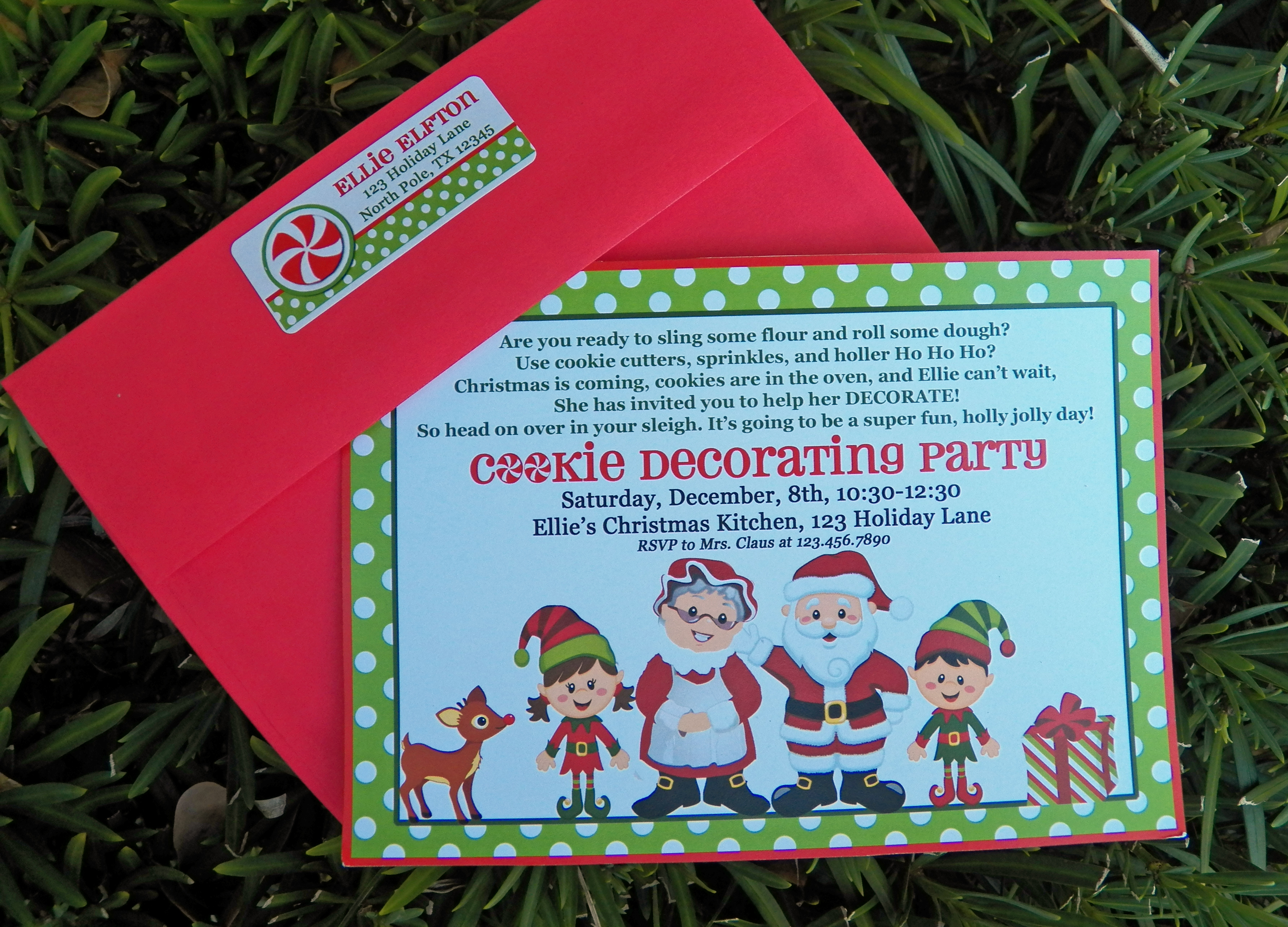 The Magic of Christmas Cookie Decorating Party That Party Chick – Cookie Decorating Party Invitations