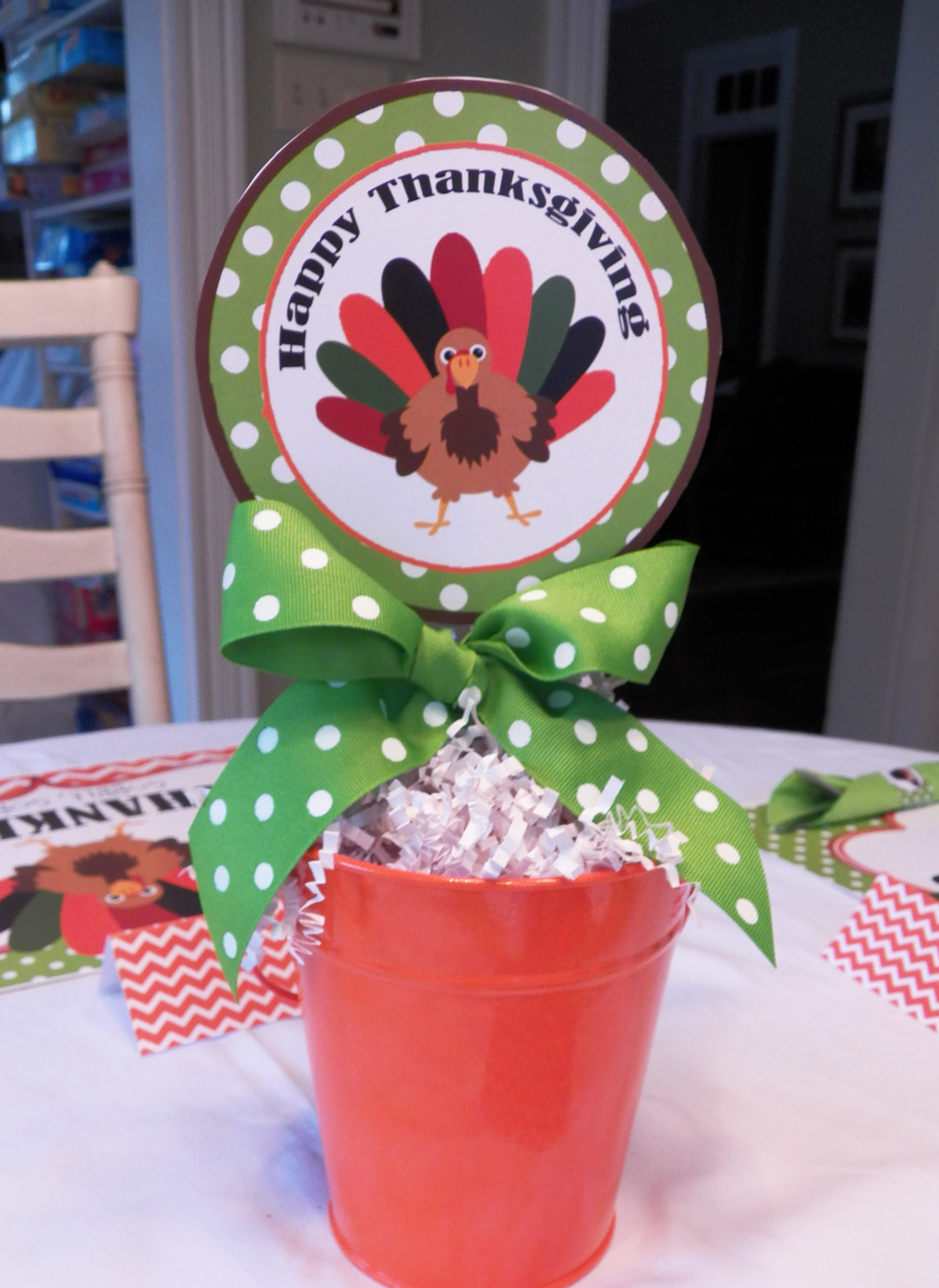 Thanksgiving Table Printable Fun That Party Chick