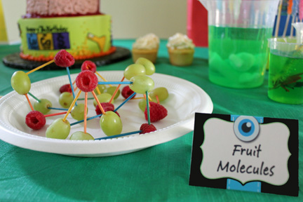 mad science party food
