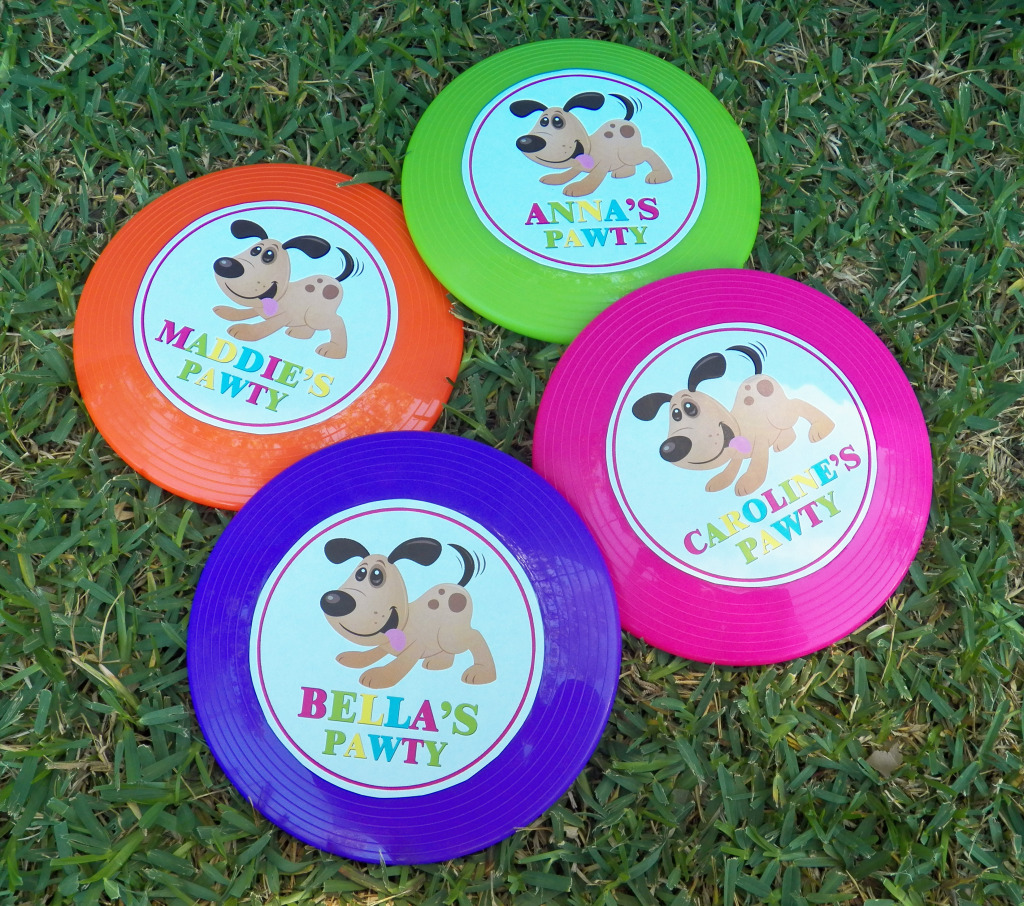 frisbee stickers