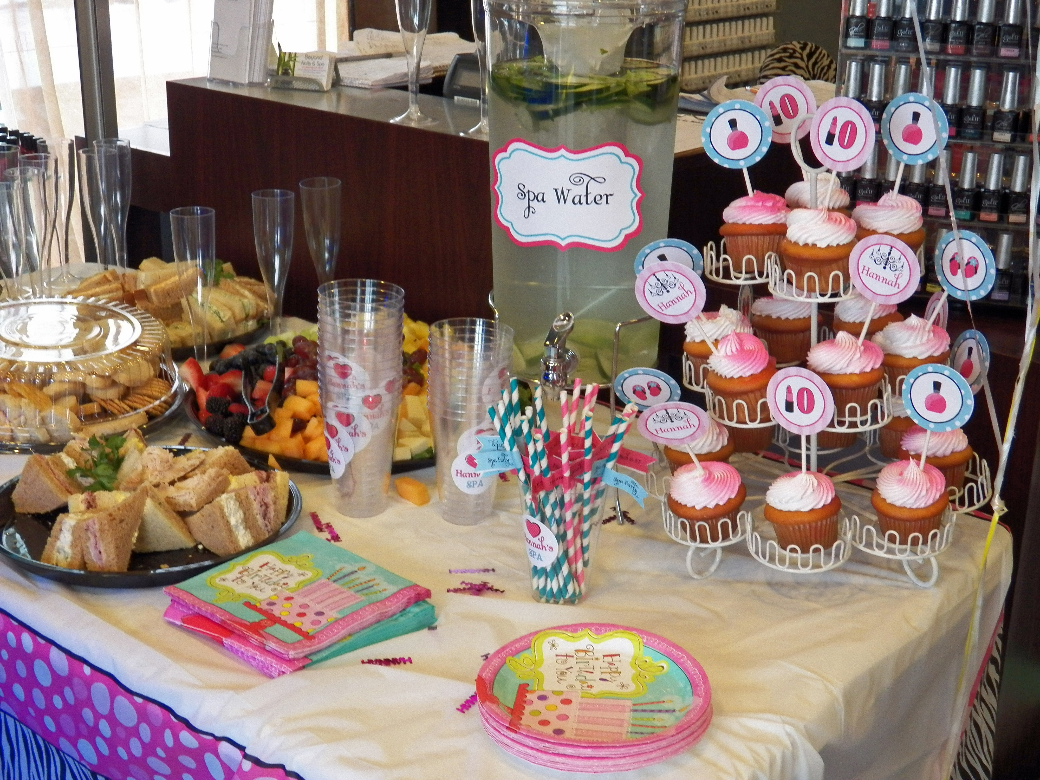 A Spa Soiree Mani Pedi Birthday Party That Party Chick
