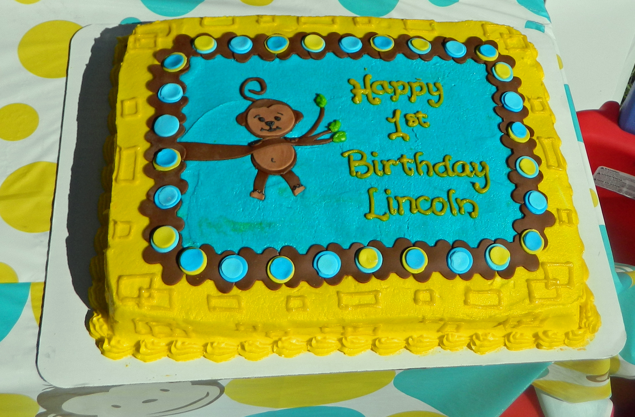 Monkey 1st Birthday Party That Party Chick