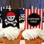 Pirate Birthday Party for Captain Cole