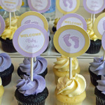 Lavender and Yellow Bloom Baby Shower
