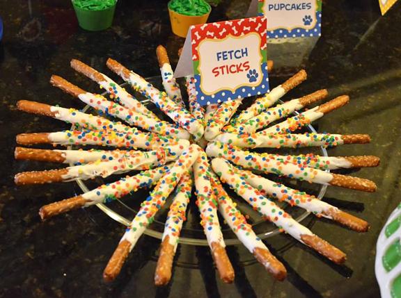 fetch sticks