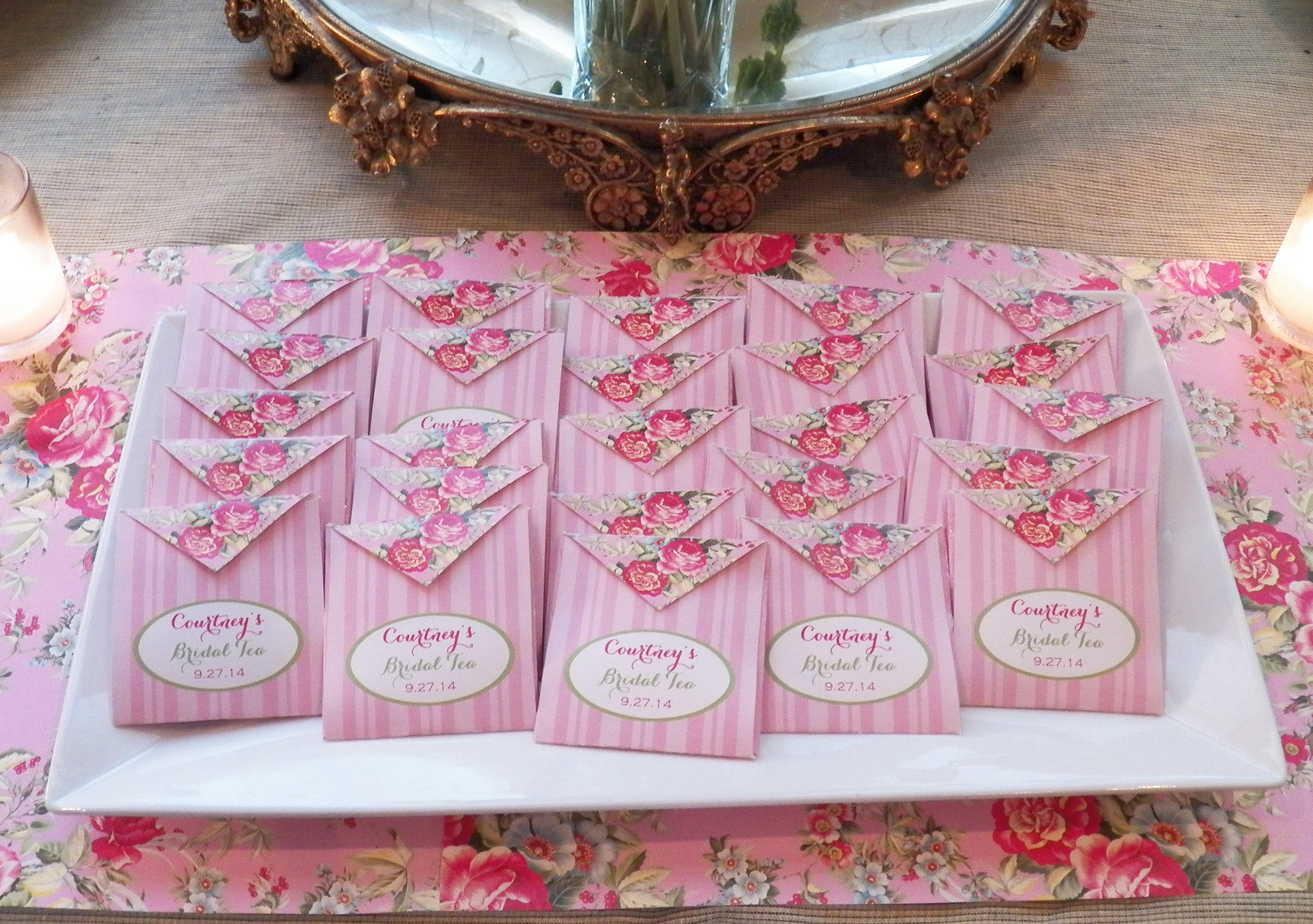 Bridal Tea Party - Garden Rose Collection / That Party Chick