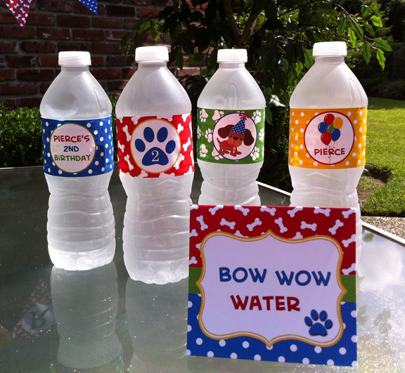 water labels 2