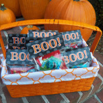 FREEbie Halloween Boo Tent Style Bag Topper!