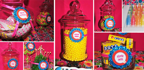 candy bar items