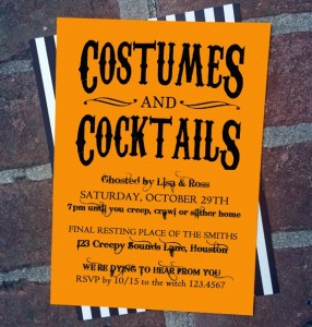 Costumes and Cocktails