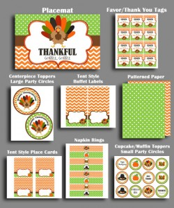 Thanksgiving Printables by That Party Chick