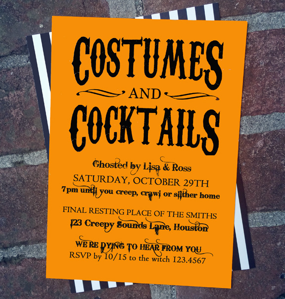 costumes and cocktails pub