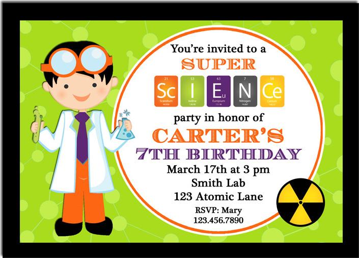 super science invitation halloween pub2