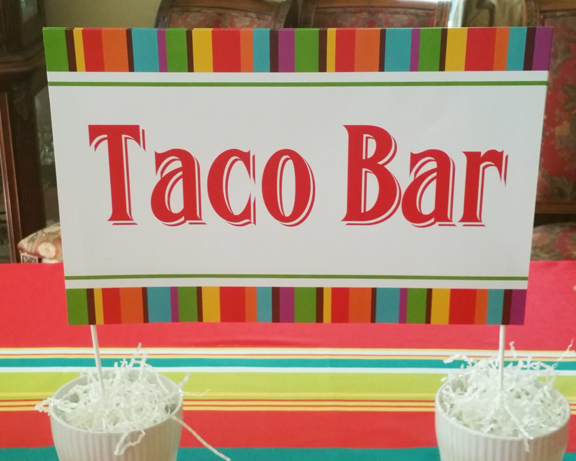 taco bar sign pub