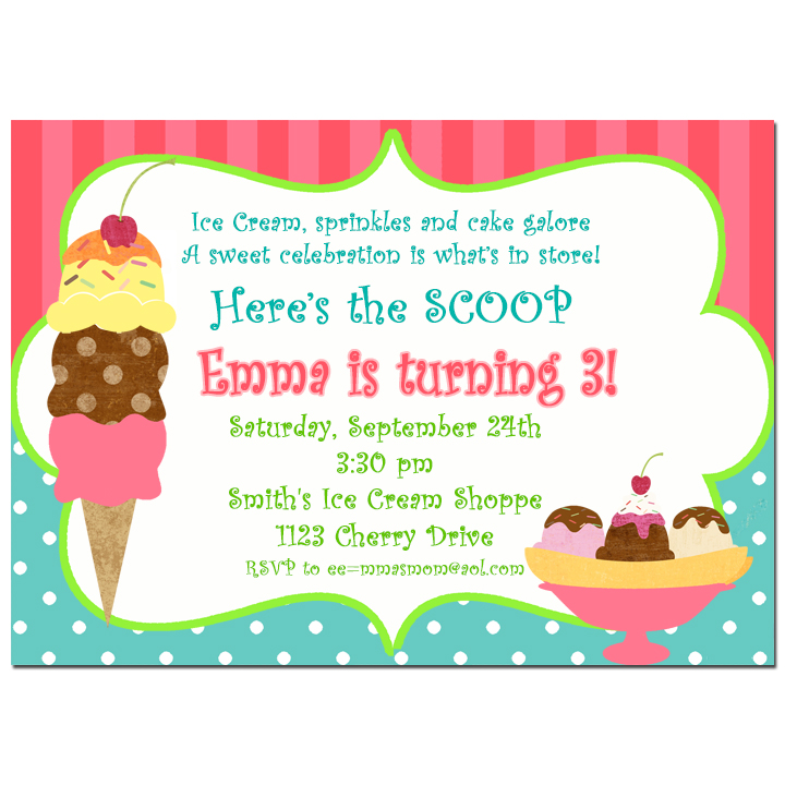 Ice Cream - Sweet Shoppe Collection