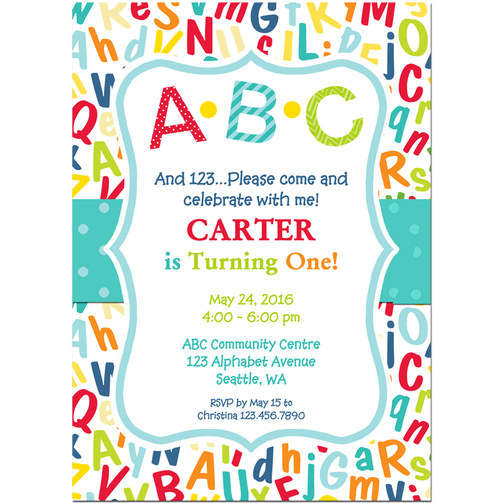 ABC 123 Party - ABC Collection