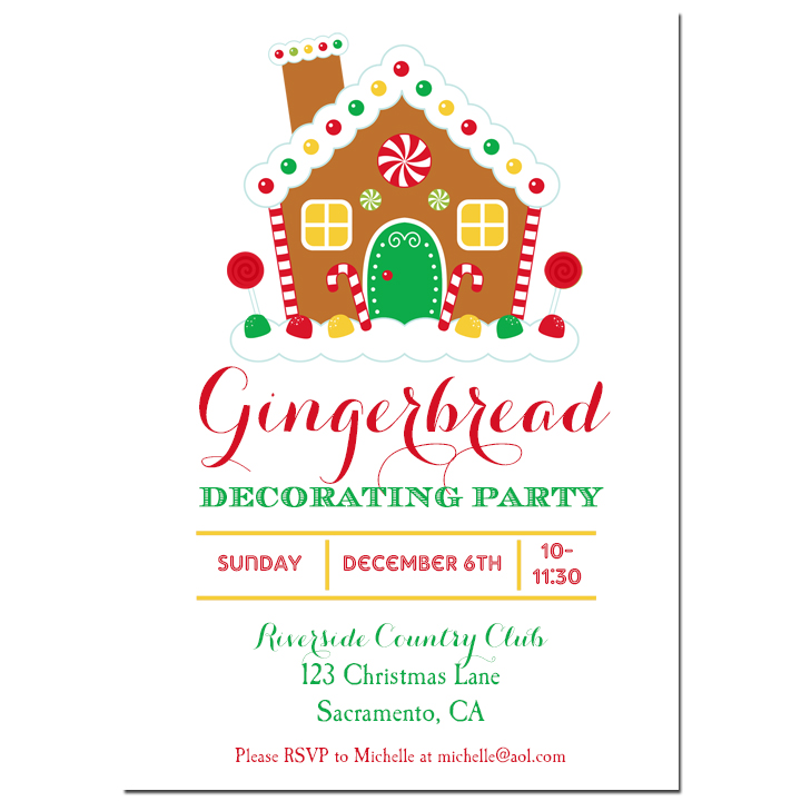 Gingerbread House Decorating - Sweet Gingerbread Collection