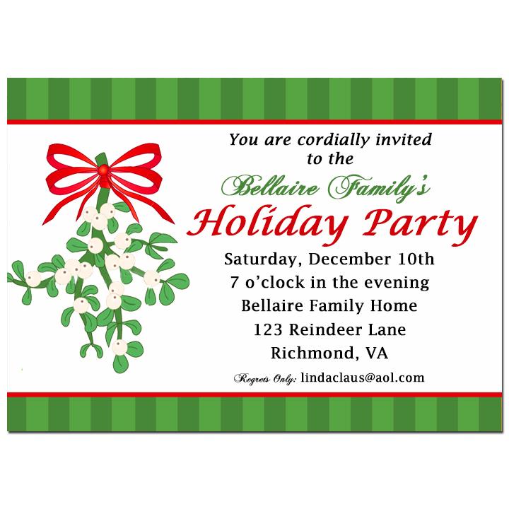 Mistletoe - Holly Jolly Mistletoe Holiday Party Collection